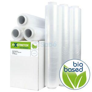 Rekfolie Biobased 50 cm x 300 mtr, 12 my transparant