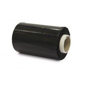 Bundelfolie 100 mm x 150 mtr,  23 mu zwart