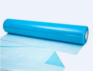 HDPE vellen 980 mm x 980 mm 10mu blauw 2000st/rol