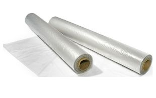 HDPE vellen 1000 mm x 1000 mm 10mu transparant 2000st/rol