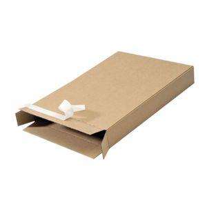 Packbox PB20 165x46x240mm bruin
