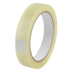 Plakband PP acryl  Low Noise 66 mtr x 25 mm transparant
