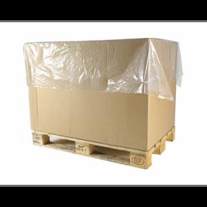 LDPE afdekvellen 1200 mm x 1400 mm 40mu transparant